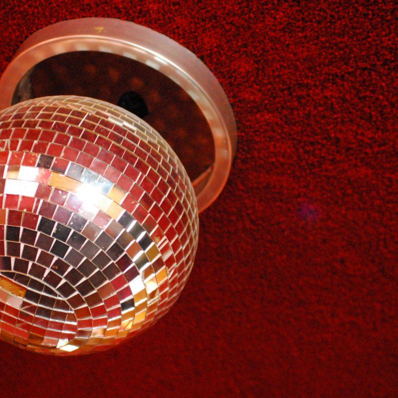 Bola de Espelhos da Discoteca