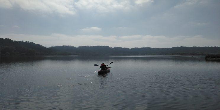 Canoagem na Lagoa